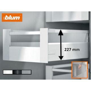Kit tiroir casserolier a l'anglaise h 227 mm Blum