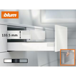 Kit tiroir a l'anglaise hauteur 133,5 mm Blum