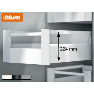 Kit tiroir à l'anglaise hauteur 224mm Blum
