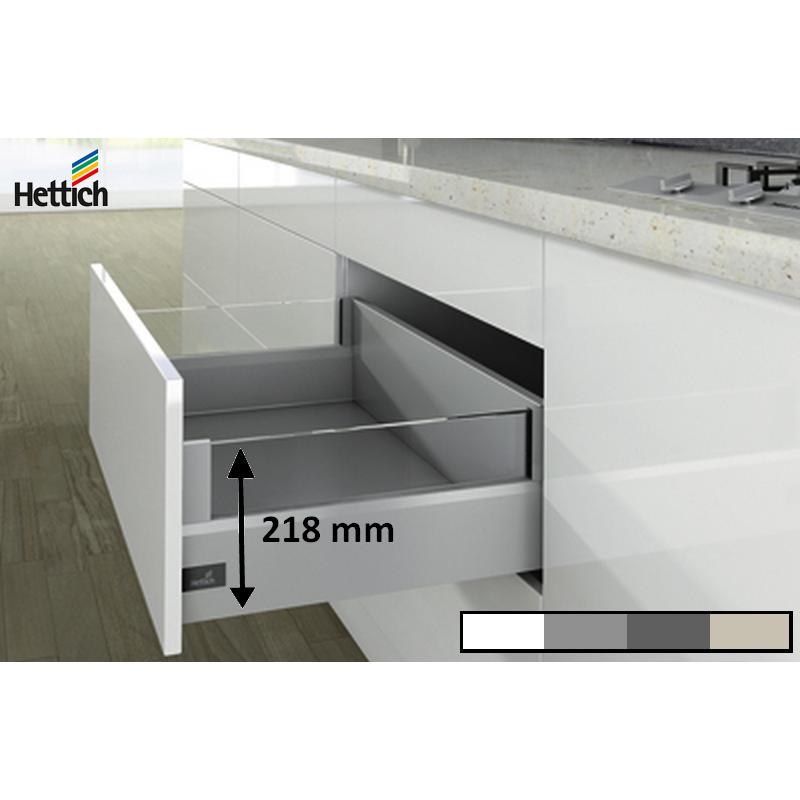 Kit tiroir casserolier Hettich 126 Designside Hauteur 218mm