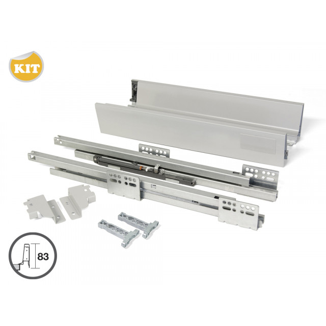 Tiroir Casserolier Vantage Q hauteur 204 mm