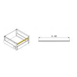 Kit tiroir Vantage Q à l'anglaise hauteur 204mm