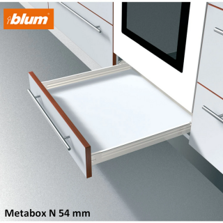 Kit tiroir Metabox Hauteur N 54 mm