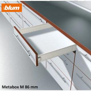 Kit tiroir Metabox Hauteur M 86 mm