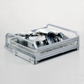 Tiroir casserolier en aluminium