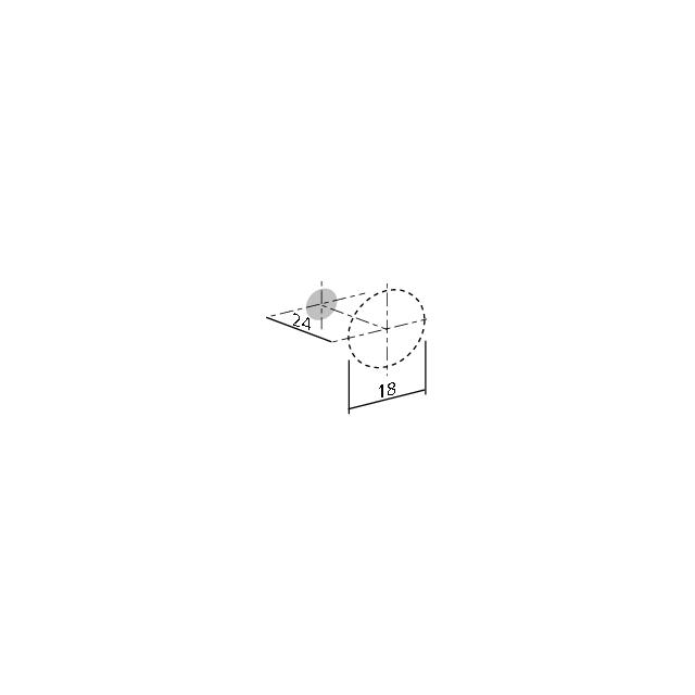 Bouton conique