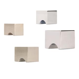 Bouton carré encoche